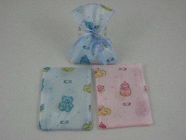 Baby Traktatie Zakjes / Tule baby zakjes