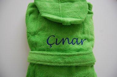 Kinderbadjas Groen 1-6 jaar