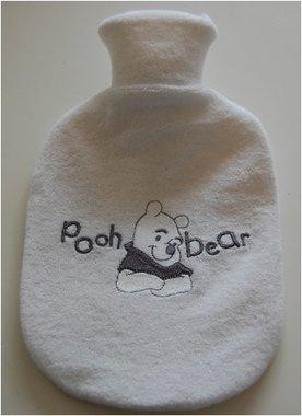 Kruik met badstof kruikenzak Winnie the Pooh