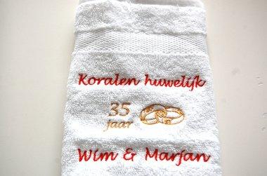 Koralen huwelijk cadeau | 35 jaar getrouwd