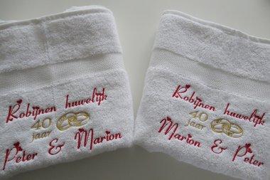 Robijn huwelijk cadeau | 40 jaar getrouwd