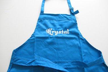 Keukenschort Kinderen Blauw