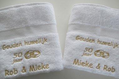 Gouden huwelijk cadeau | 50 jaar getrouwd