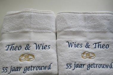 55 jaar getrouwd huwelijkscadeau