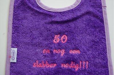 Slabber 50 jaar / Abraham Sarah slabber