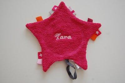 Speendoek Roze met Naam