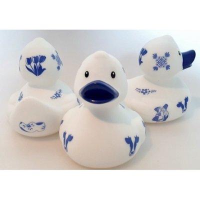 Badeend Delfts Blauw
