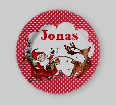 Kerst Kinderbordje met Naam