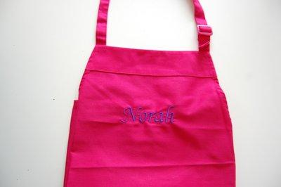 Keukenschort Kinderen Roze