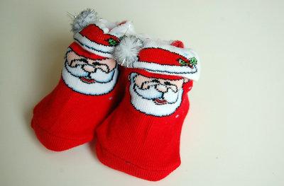 Kerst sokjes baby's eerste kerst