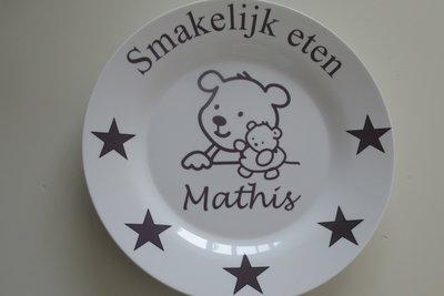 Broodbord met naam