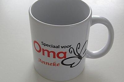 Speciaal voor Oma koffiemok