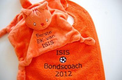 EK Voetbal Oranje Slabber