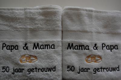 Papa & Mama ...  jaar getrouwd / jubileum cadeau