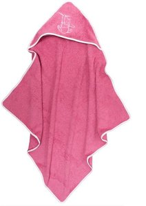 Badcape Silly Pooh Pink met Naam
