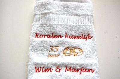 35 jaar getrouwd cadeau Koralen huwelijk cadeau | 35 jaar getrouwd huwelijkskado  35 jaar getrouwd cadeau