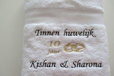 Tinnen Huwelijk Cadeau 10 Jaar Getrouwd