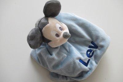 Mickey Mouse Knuffeldoekje met Naam