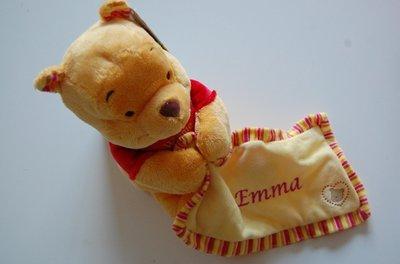 Winnie the Pooh geboorte knuffel met Naam