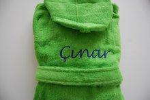 kinderbadjassen met naam