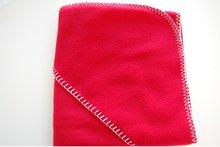 fleece deken rood