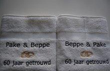 Pake en Beppe trouwcadeau