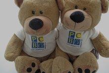 beer met logo geborduurd