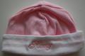 baby muts roze met naam