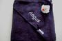 donkerblauwe badcape